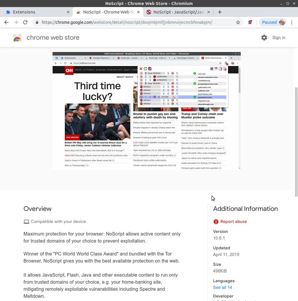 hackademix net » Archive for WebExtensions